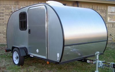 tear-drop camper