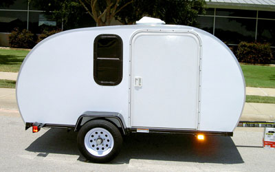 tiny travel trailer